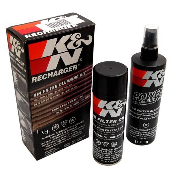 Bilde av K&N filterrens og olje